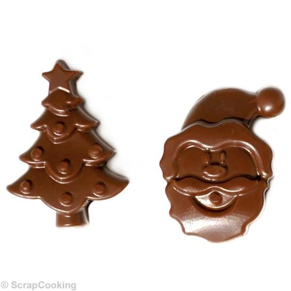 Moule en silicone chocolats de Noël - Photo n°2
