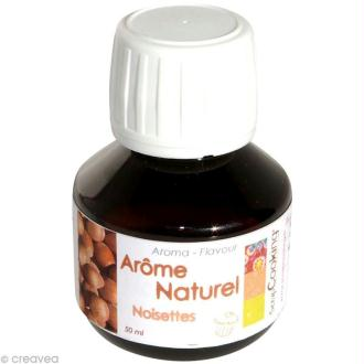 Arôme alimentaire naturel Noisette 50 ml