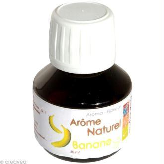 Arôme alimentaire naturel Banane 50 ml