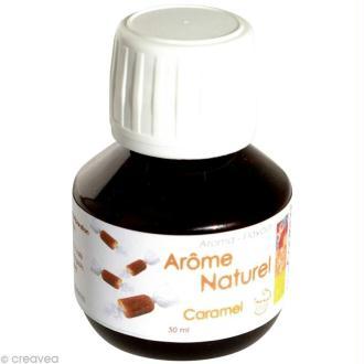 Arôme alimentaire naturel Caramel 50 ml