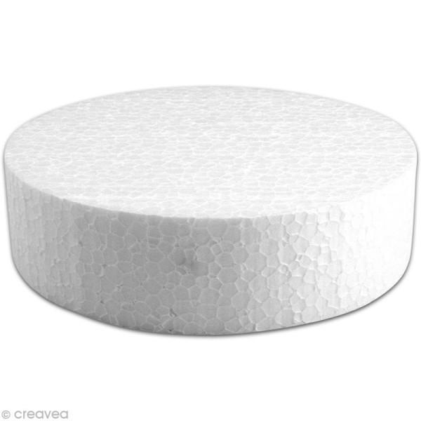 Disque en polystyrène expansé 15 cm - Photo n°1