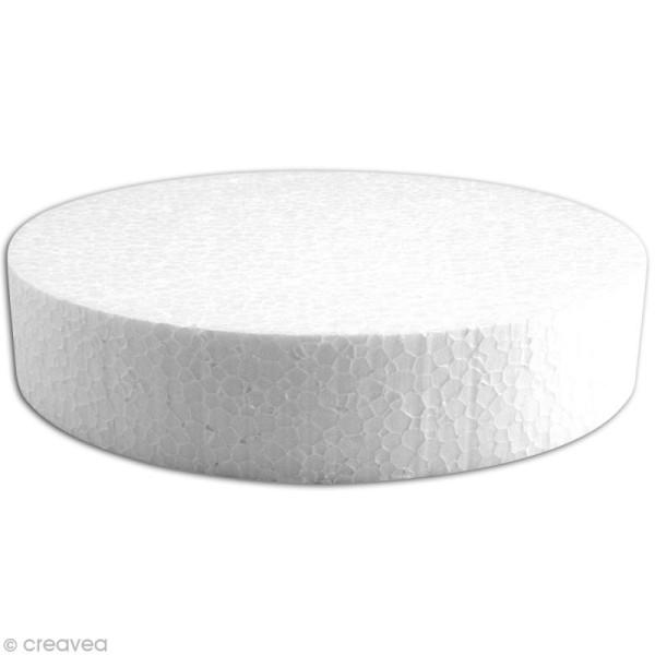 Disque en polystyrène expansé 20 cm - Photo n°1