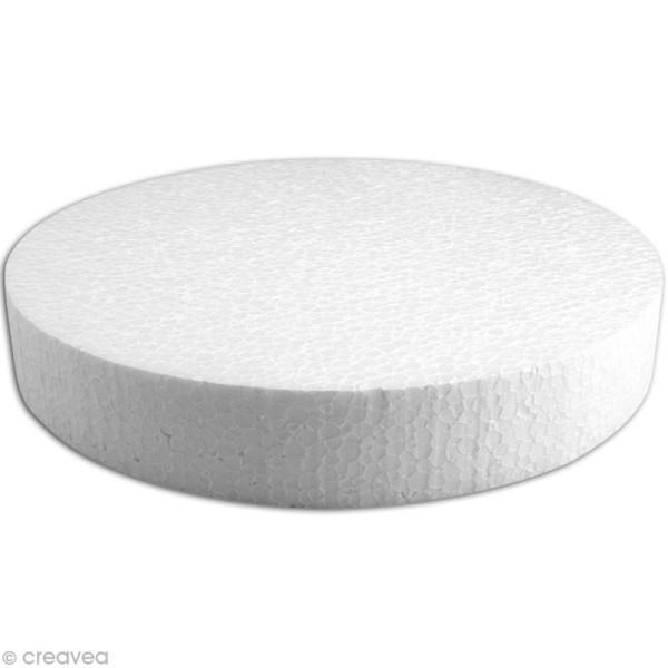 Disque en polystyrène expansé 25 cm - Photo n°1