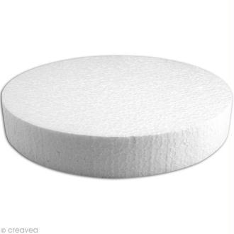 Disque en polystyrène expansé 25 cm