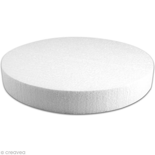 Disque en polystyrène expansé 30 cm - Photo n°1