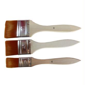 Pinceaux huile et Acrylique Pebeo - Set de 3 spalters polyamide souple