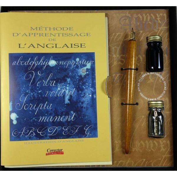 Coffret de calligraphie latine - Photo n°1