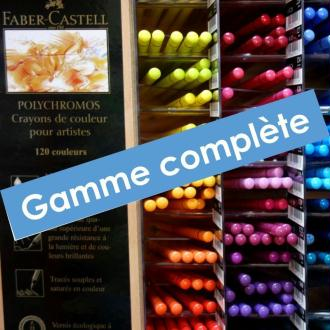 Gamme complète Crayons Polychromos - Faber-Castell