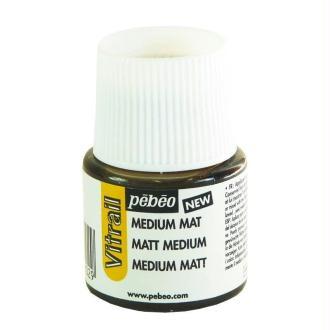 Médium mat Vitrail Pebeo 45ml