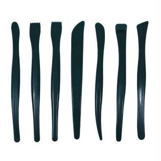 Set de 7 outils de modelage en plastique