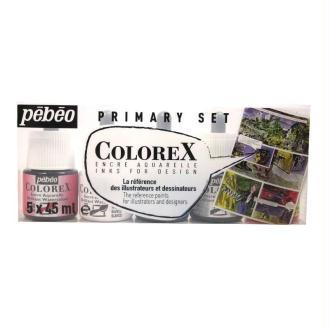 Encre aquarellable Colorex - Set 45ml x5