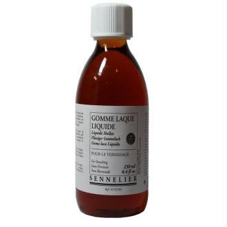 Gomme  laque liquide Sennelier, 250 ml