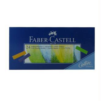 Boîte 24 1/2 pastels tendres Faber-Castell