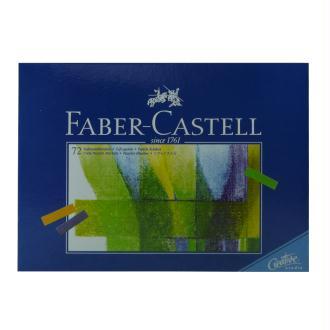 Boîte 72 1/2 pastels tendres Faber-Castell