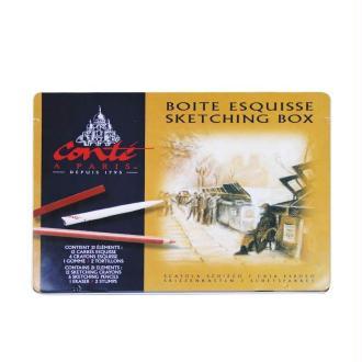 Boite esquisse métal Conté sketching box