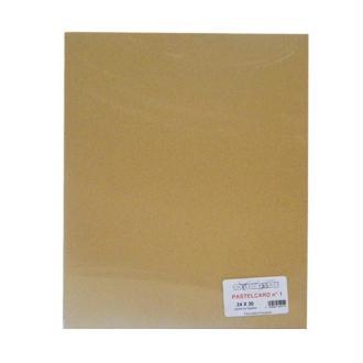 Pochette 6 feuilles 24x30 jaune de naples PastelCard