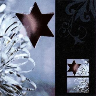 Serviette en papier Noël Etoile brillante