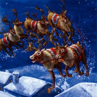 Serviette en papier Noël Veille de Noël