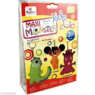 Kit feutrine pour enfant - Maxi monstre