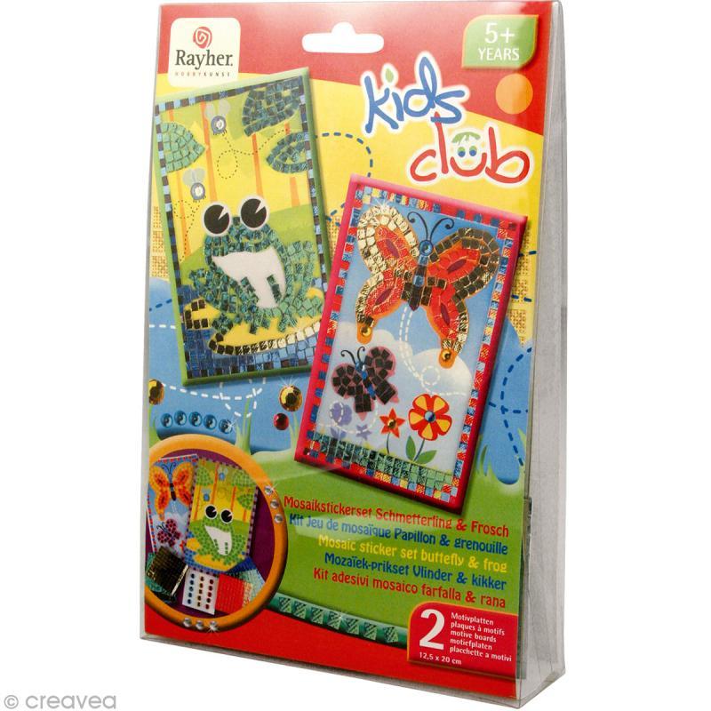 kit mosa que pour enfant nature jeux cr atifs de 2 5 ans creavea. Black Bedroom Furniture Sets. Home Design Ideas