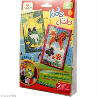 Kit mosaïque pour enfant Nature