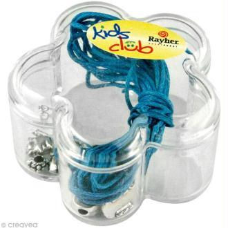Kit bracelet d'amitié Rockstars - bleu turquoise