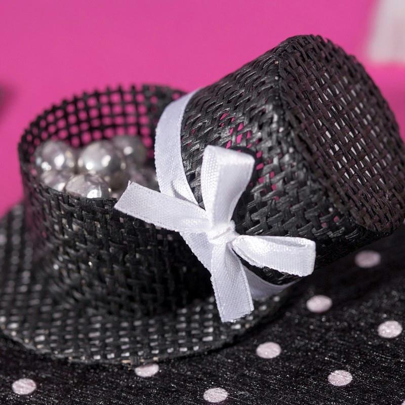 Chapeaux garnir noir x4 ballotins et bo tes for Chapeau pour cheminee exterieur