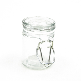 Mini bocal transparent