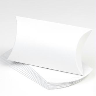 Boites cadeaux d'invité (x10) blanc