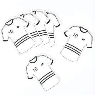 Nominette maillot foot (x6)