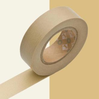 Masking tape uni beige x 10 m
