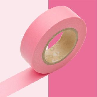 Masking tape uni rose x 10 m