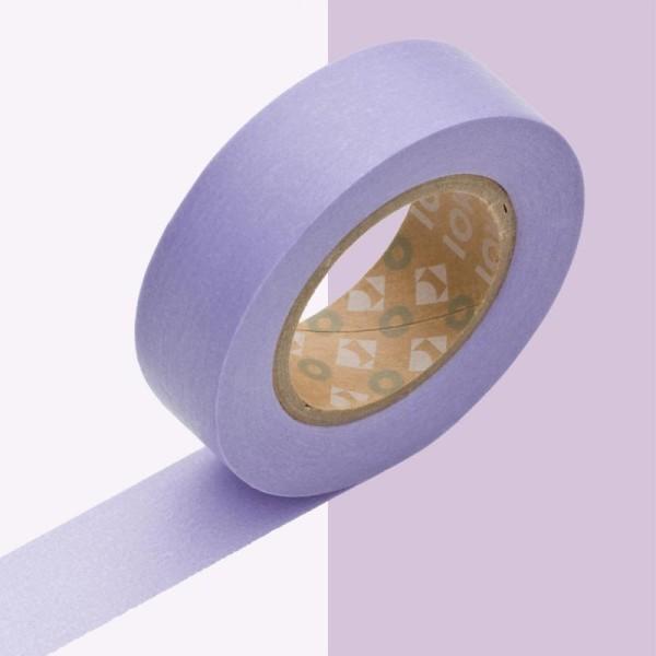 Masking tape uni lavande x 10 m - Photo n°1