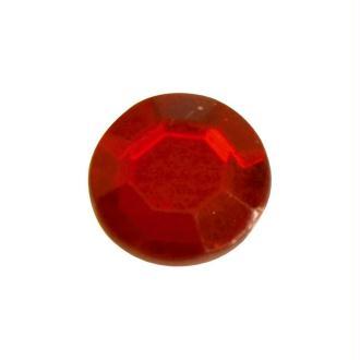 Diamants plats (x50) rouge