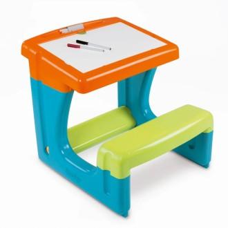 Smoby Table à Dessin Pour Enfants Bleu 028077