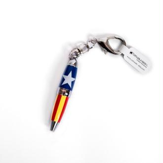 Mini stylo porte-clefs - Catalogne
