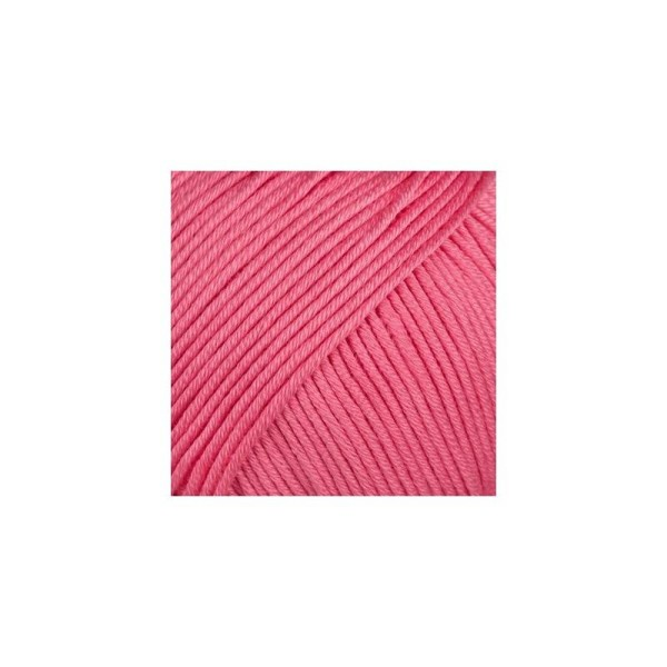 Pelote fil de coton essentials cotton dk rose bonbon Rico Design - Photo n°1