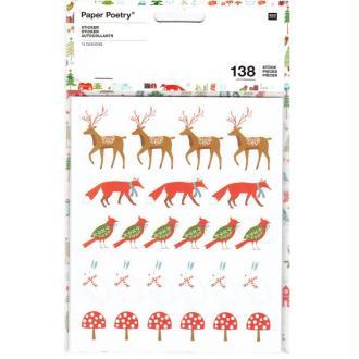 Stickers Noël Scandinave