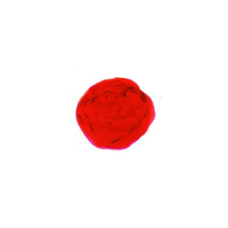 Laine card e feutrer rouge 50 g glorex laine for Art et decoration fevrier 2014