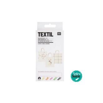 Feutres textiles x 5