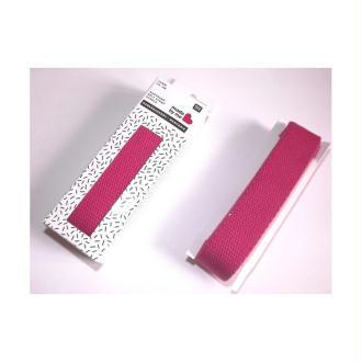 Sangle coton fushia Rico Design
