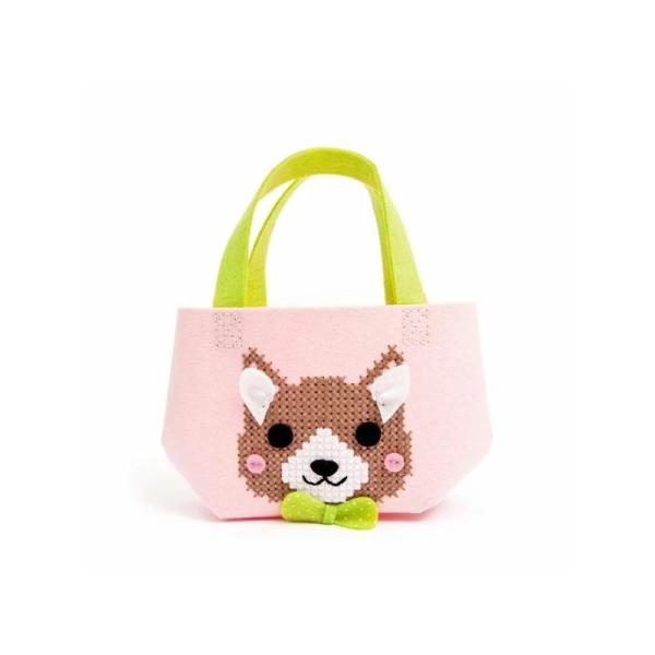 Kit sac feutrine chien - Rico Design - Photo n°1