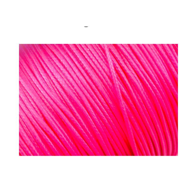 cordons fils polyester 5 m tres couleur rose fluo cordon coton cir creavea. Black Bedroom Furniture Sets. Home Design Ideas