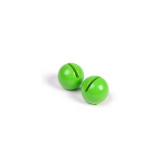 Marque-place boule vert anis (x2)