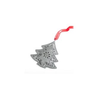 Sapin métal gris à suspendre