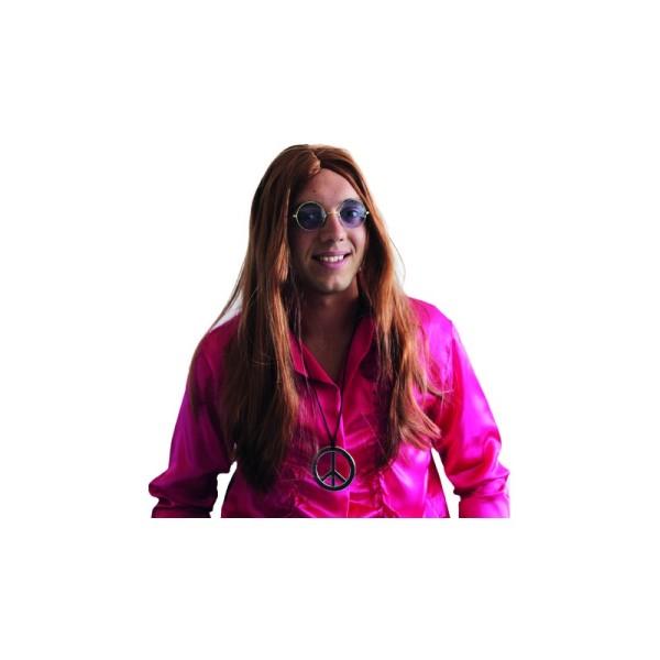 Perruque hippie rousse - Photo n°1