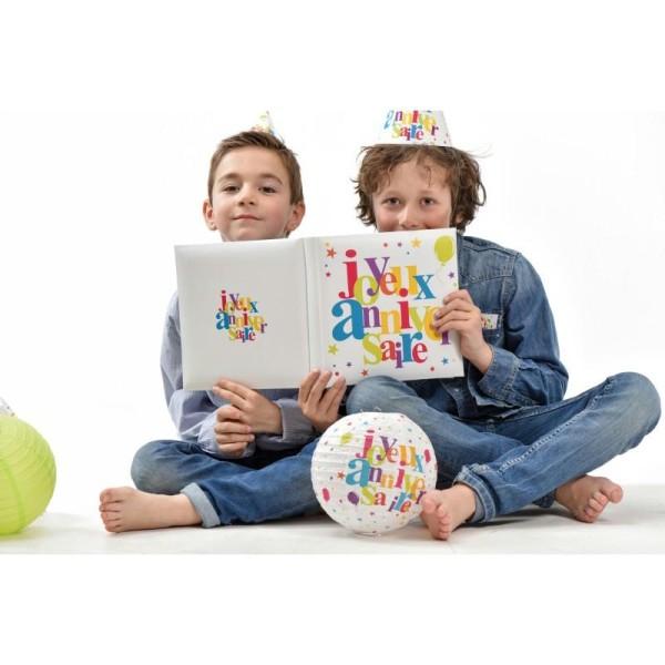 Livre d'or  Joyeux Anniversaire multicolore - Photo n°4