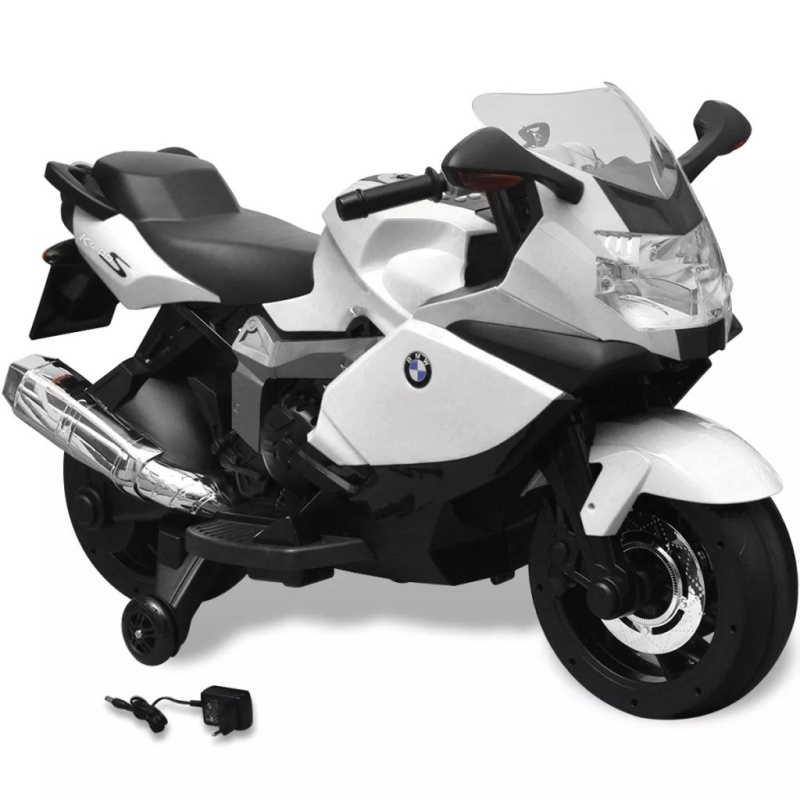 Moto lectrique bmw 283 blanc 6 v pour enfant jouets - Radiateur electrique pour cuisine ...