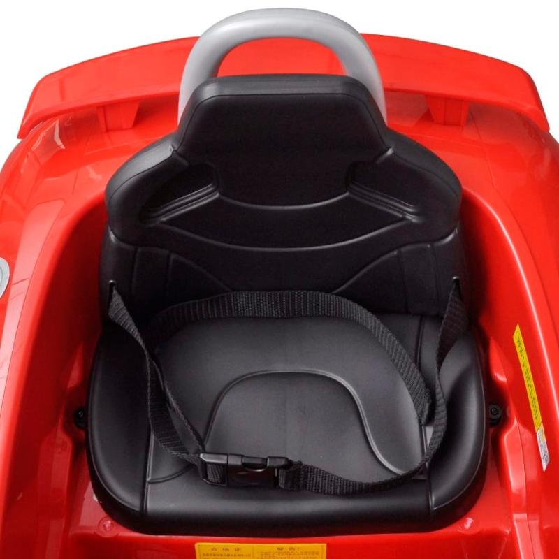 voiture lectrique pour enfant audi tt rs rouge avec t l commande jouets mixtes creavea. Black Bedroom Furniture Sets. Home Design Ideas