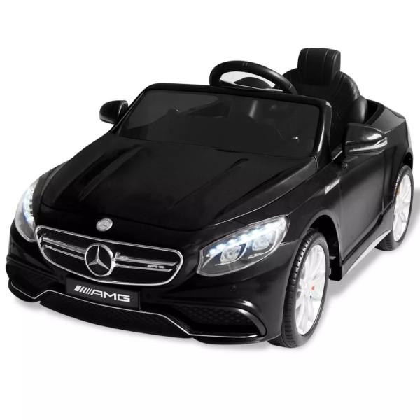 Vidaxl Noir V Amg Voiture 6 Électrique Pour S63 Enfants Mercedes Benz dCBxoerQW
